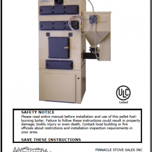 Traeger GBU-070 Furnace Manual