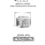 The Earth Stove Manual