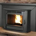 Milan Pellet Fireplace Insert